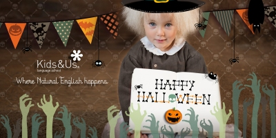 happy halloween kids&us
